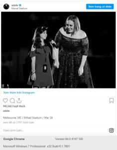 Adele giảm cân ngoạn mục